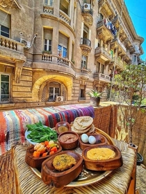 Breakfast Cairo Egypt