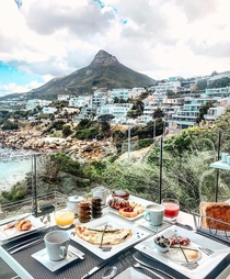 Breakfast in Cape Town South Africa