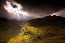 Breaking Through in Snowdonia Wales