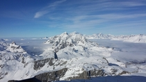 Breathtaking view at Tignes