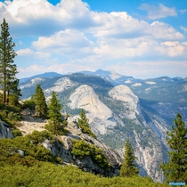 Breathtaking view from Yosemite National Park California