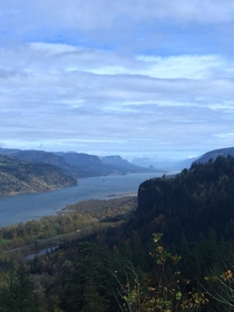 Breathtaking view of the Columbia River Corbett OR
