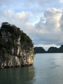 Breathtaking views wherever you lookone shot from my recent trip to Halong Bay