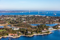 Brenton Village neighborhood of Newport RI USA