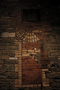 Bricks  Came across this interesting brick pattern while looking around this old mill in Carleton Place Ontario