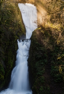 Bridal Veil Falls in Oregon OC x