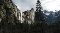 Bridalveil Falls Yosemite national park March th   x