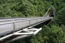 Bridge at Miho Museum Japan