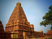 Brihadeshwara Temple in Thanjavur India Constructed thousands of years ago