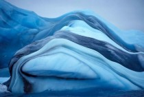 Brilliant Striped Iceberg of Antarctica By Krabs