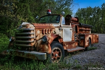 Bring the action  Diamond T Fire Truck by MGampA