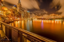 Brisbane city by Ali Saadat