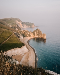 Britain does have some amazing spots to enjoy the sunset Durdle Door England
