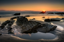 Broad Haven Wales United Kingdom by Sunset Snapper