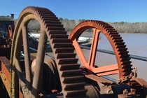 Broad RiverColumbia Canal Lock Floodgate Gears