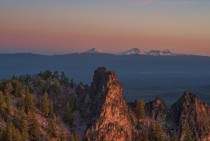 Broken-top and the Three Sisters Oregon