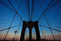 Brooklyn Bridge - New York City NY