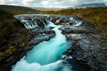 Bruarfoss - my favorite Waterfall in Iceland  x