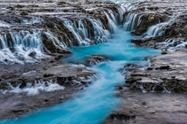 Bruarfoss Waterfall Iceland  by angie_