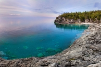 Bruce Peninsula Blues Bruce Peninsula National Park Ontario Canada