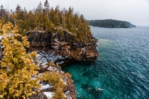 Bruce Peninsula National Park Lake Huron Canada