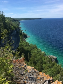 Bruce Peninsula National Park ON Canada