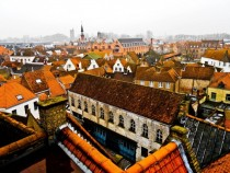 Bruges Belgium and its awesome orange roofs