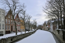 Bruges Belgium during Winter