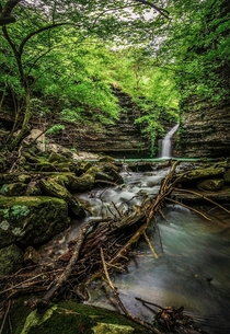 Brushy Grotto Falls Arkansas