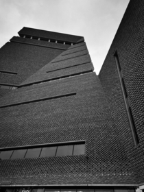 Brutalist Tate Modern Designed by Giles Gilbert Scott - London  x