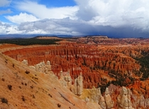Bryce Canyon particularly colourful just after some rain