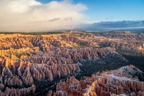 Bryce Canyon UT moments after sunrise Worth every second of standing around in the freezing cold