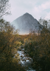 Buachaille Etive Mr in its autumn blanket Scotland  pete_ell