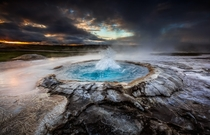 Bubbling In Iceland Photographer Alban Henderyckx
