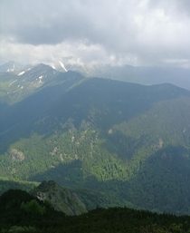 Bucegi Mountains Romania Soon to be extinct due to massive tree clearing