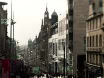 Buchanan Street Glasgow Scotland