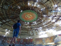 Budludzha Monument Bulgaria AKA The UFO