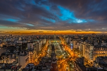 Buenos Aires at Dusk