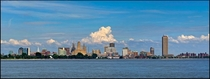 Buffalo NY Skyline from Fort Erie ON The second largest city in NY State