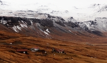 Buildings left to the elements in Iceland