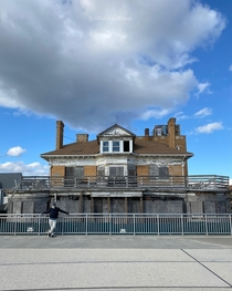 Built in  as a private residence Hotel Del Mar on the Rockaway Boardwalk in Queens New York opened in  for business It became an assisted living facility before closing The hotel name is still above the front door