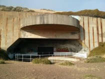 Built in the late s the San Francisco Coastal Defense Battery Network was a series of bunkers with -foot guns designed to counter navel threats The bunkers were stripped for parts in the s and have lain dorment ever since