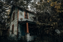 Built in  this house now sits abandoned in a sleepy little Florida town
