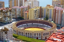 Bullfighting Ring - Mlaga Spain