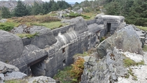 Bunker built by the nazis in Norway during WW
