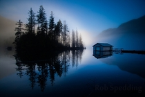 Buntzen lake by Rob Spedding