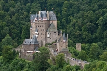 Burg Eltz a fairytale like castle located in Weirschem Germany