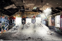 Buried Beneath - old military building - Fort Tilden NY