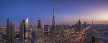 Burj Khalifa at Dusk by Rafael RC Concepcion