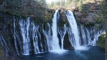 Burney Falls Shasta County California